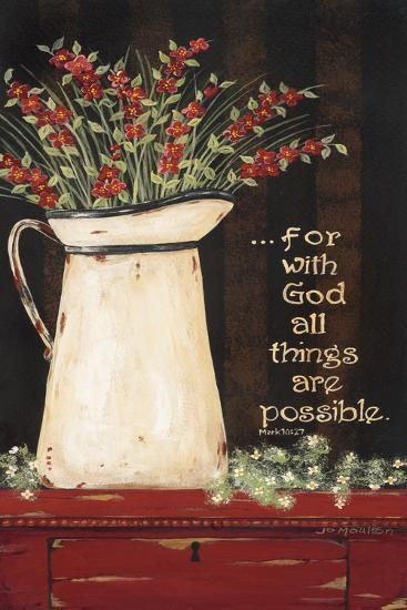 All Things are Possible-Jo Moulton-Art Print