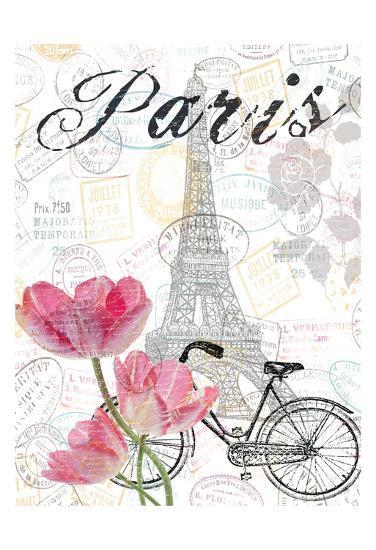 All Things Paris 2-Sheldon Lewis-Art Print