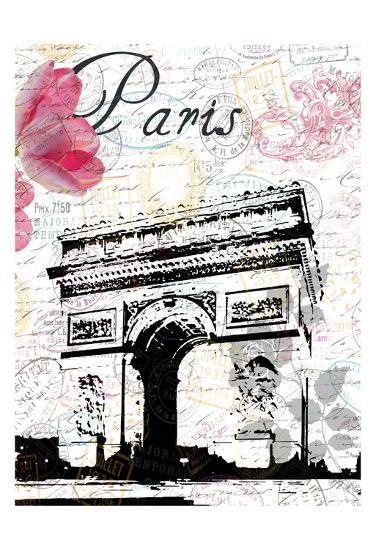 All Things Paris 3-Sheldon Lewis-Art Print