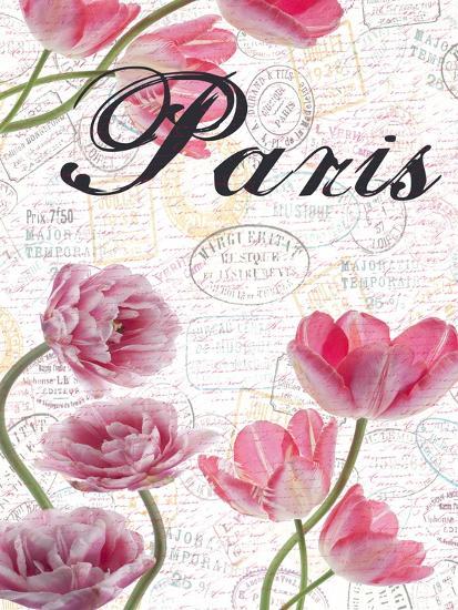 All Things Paris 5-Sheldon Lewis-Art Print