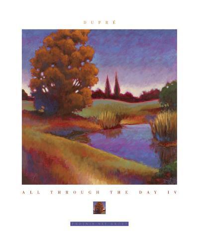 All Through the Day IV-Karen Dupr?-Art Print