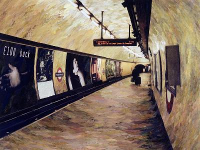All Trains Go to King's Cross St Pancras, 2004-Ellen Golla-Giclee Print
