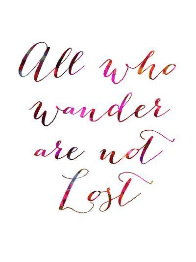 All Who Wander-Natasha Wescoat-Giclee Print