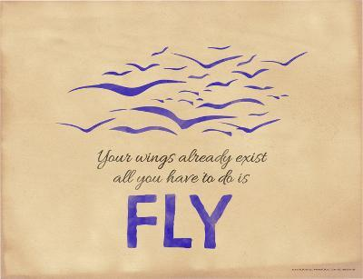 All You Have to Do is Fly-Jeanne Stevenson-Giclee Print