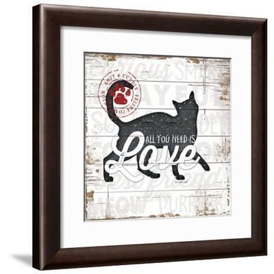 All You Need Is Love - Cat-Jennifer Pugh-Framed Art Print