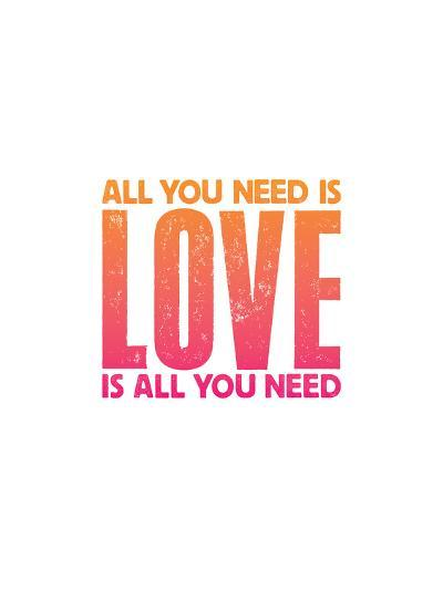 All You Need Is Love Copy-Brett Wilson-Art Print