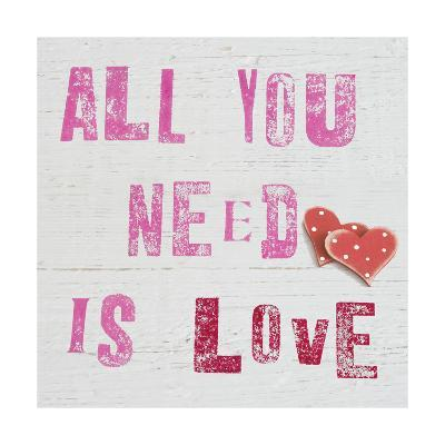 All You Need Is Love-Howard Shooter-Giclee Print