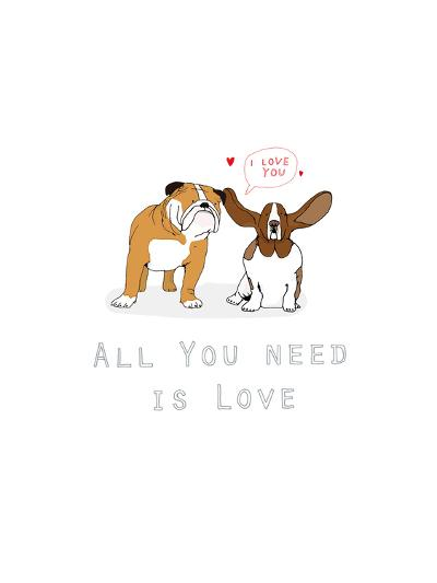 All You Need Is Love-Hanna Melin-Art Print