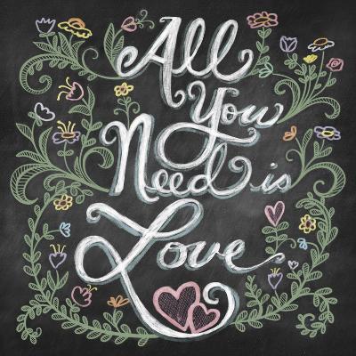 All You Needis Love-Elizabeth Caldwell-Giclee Print