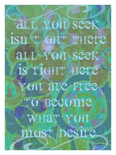 All You Seek-Lisa Weedn-Giclee Print