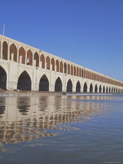 Allahverdi Khan Bridge River, Isfahan, Middle East-Robert Harding-Photographic Print