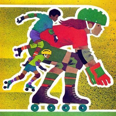 Roller Skate Race - Jack & Jill