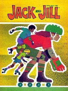 Rollerskating - Jack and Jill, April 1982 by Allan Eitzen