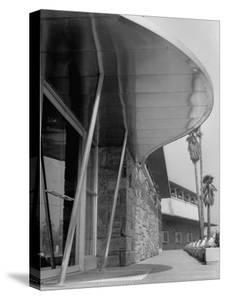 Bullock's Department Store with Architectural Twists, Louvered Roofs, Porch Supports with Porthales by Allan Grant