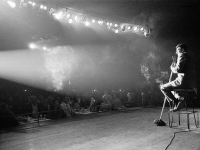 Entertainer Dean Martin on Stage