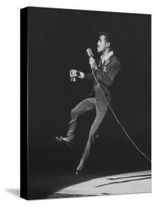 Entertainer, Sammy Davis Jr, Performing at 'share' Benefit for Mental Health by Allan Grant