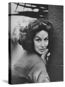 Mexican Actress Maria Felix by Allan Grant