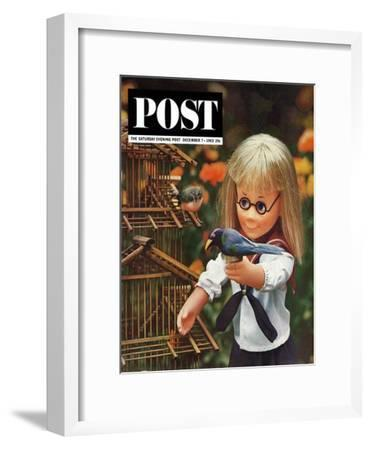 """""""New Toys 1963,"""" Saturday Evening Post Cover, December 7, 1963"""