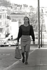 Unidentified Model in San Francisco, California, 1960 by Allan Grant