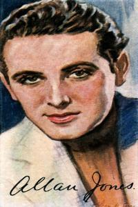 Allan Jones, (1907-199), American Actor and Singer, 20th Century