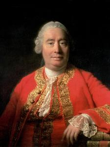 David Hume (1711-76) 1766 by Allan Ramsay