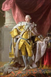 George III (1738-1820) by Allan Ramsay
