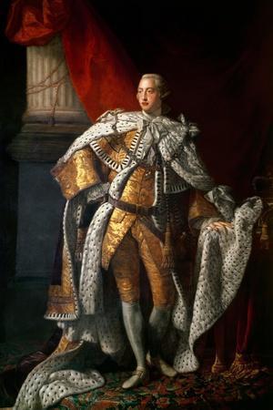 King George III (1738-1820) C.1762-64
