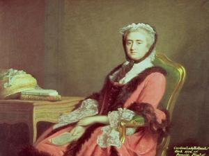 Lady Holland, 1766 by Allan Ramsay