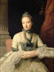 Lady Susan Fox-Strangways, 1761 by Allan Ramsay