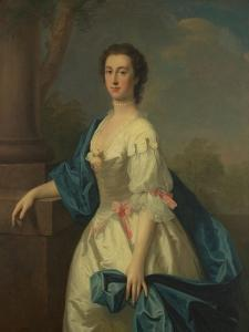 Portrait of a Lady, C.1744 by Allan Ramsay