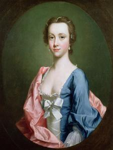 Portrait of a Lady, Traditionally Said to Be Jenny Cameron of Lochiel by Allan Ramsay