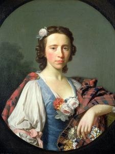 Portrait of Flora Macdonald, 18th Century by Allan Ramsay