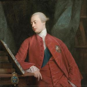 Portrait of Frederick, Lord North K. G., Later 2nd Earl of Guildford by Allan Ramsay