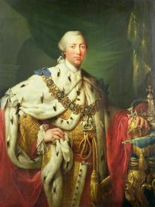 Portrait of George III (1738-1820) in His Coronation Robes, C.1760 by Allan Ramsay
