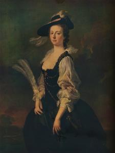 'Portrait of Jane Hale, Mrs Madan', 1746 by Allan Ramsay