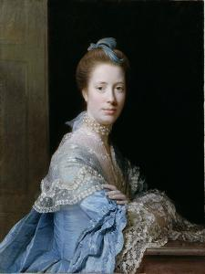 Portrait of Jean Abercromby, Mrs Morison of Haddo by Allan Ramsay