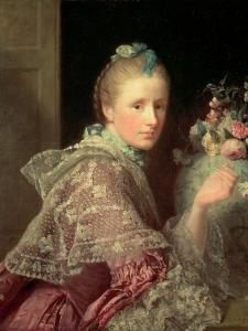 The Artist's Wife: Margaret Lindsay of Evelick, 1754-55 by Allan Ramsay