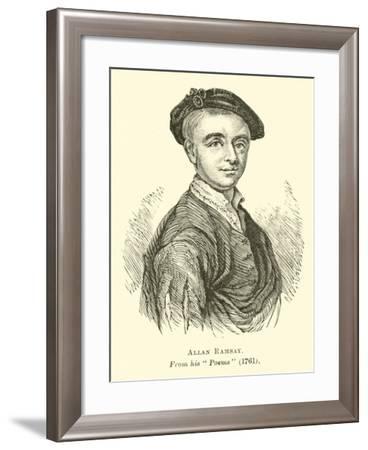 Allan Ramsay--Framed Giclee Print