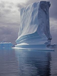 Grandidier Channel, Pleneau Island, Grounded Iceberg, Antarctica by Allan White