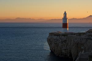Trinity Lighthouse Gibraltar by Allard Schager