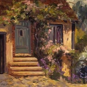 Floral Cottage by Allayn Stevens