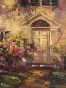 Pink Rose Walk by Allayn Stevens