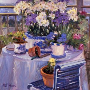 Purple Balcony by Allayn Stevens