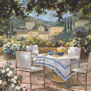 Tuscany Terrace by Allayn Stevens