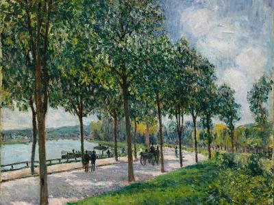 Allée of Chestnut Trees, 1878-Alfred Sisley-Giclee Print