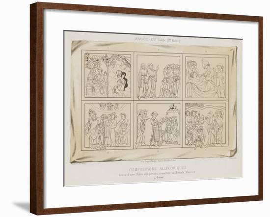 Allegorical Compositions--Framed Giclee Print