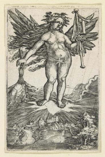 Allegorical Figure, C. 1515-1518-Albrecht Altdorfer-Giclee Print