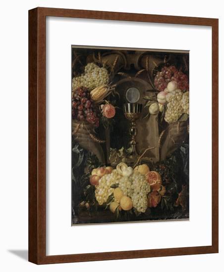 Allégorie de l'Eucharistie-Alexander Coosemans-Framed Giclee Print
