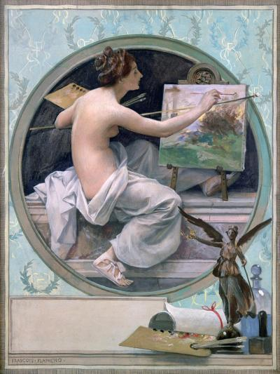 Allegory, 1856-1923-Francois Flameng-Giclee Print