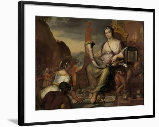 Allegory of Coinage-Romeyn De Hooghe-Framed Art Print